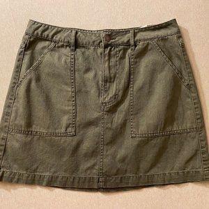 Jean skirt (Green)